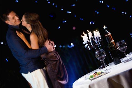 Романтический вечер с женой