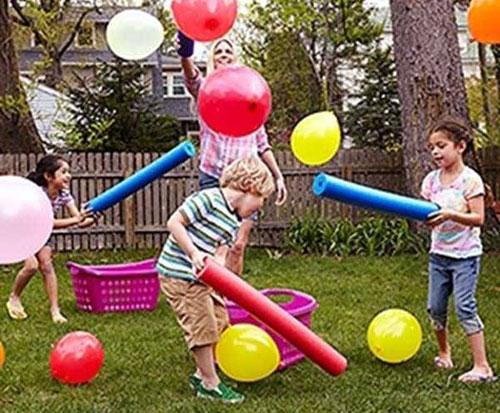 Игры с воздушными шарами для детей