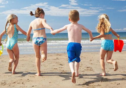 Игры на пляже для детей